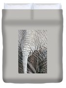 Tail Of African Elephant Duvet Cover