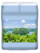 Tail Of The Dragon Scenic Road In Great Smoky Mountains Duvet Cover