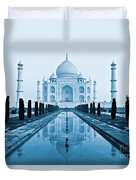 Taj Mahal - Agra - India Duvet Cover