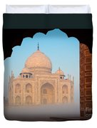 Taj Mahal Dawn Duvet Cover
