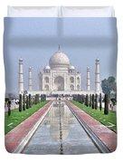 Taj Mahal Duvet Cover