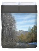 Take A Chance With Travel Duvet Cover
