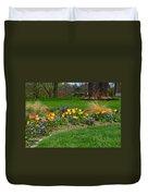 Take A Deep Breath Of Springtime Duvet Cover