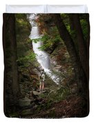 Take A Hike Duvet Cover by Bill Wakeley