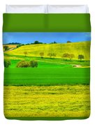 Take Me Home Country Road Duvet Cover