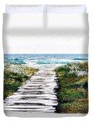 Take Me To The Sea Duvet Cover