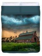 Take Shelter Duvet Cover