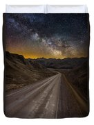Take The Long Way Home Duvet Cover