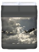 Take The Shot Duvet Cover