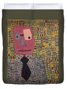Talking Head Duvet Cover