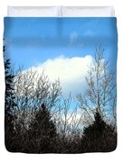 Tall Birch Duvet Cover