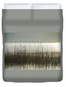 Tall Grass On Lough Eske - Donegal Ireland Duvet Cover
