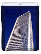 Tall Highrise Building Duvet Cover
