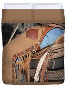 Tall In The Saddle II Duvet Cover
