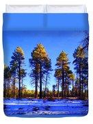 Tall Ponderosa Pine Duvet Cover