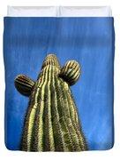 Tall Saguaro Cactus Duvet Cover