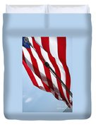 Tall Ship Flag Duvet Cover