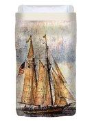 Tall Ships Art Duvet Cover