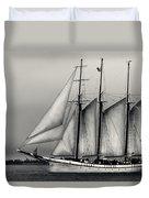 Tall Ships Sailing Boat Duvet Cover