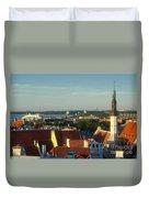 Tallinn Old Town 3 Duvet Cover