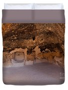 Talus Housefront Room Bandelier National Monument Duvet Cover