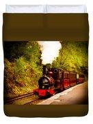 Talyllyn Railway 4 Duvet Cover