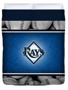 Tampa Bay Rays Duvet Cover