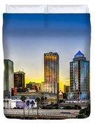 Tampa Skyline Duvet Cover