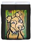 Tan Dog Duvet Cover