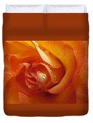 Tangerine Beauty Duvet Cover