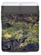 Tangled Neighbors Of The Lone Cypress Duvet Cover