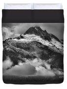 Tantalus Mountains - Canadian Coastal Mountain Range Duvet Cover