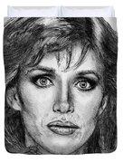 Tanya Roberts In 1981 Duvet Cover