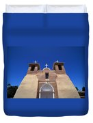 Taos Mission Duvet Cover