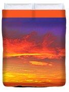 Taos Sunset Xxxx Duvet Cover