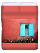 Taos Window Iv Duvet Cover