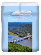 Bear Mountain Bridge 2 Duvet Cover