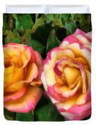 Tapestry - Roses And Thorns Duvet Cover