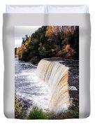 Taquamenon Falls II Duvet Cover