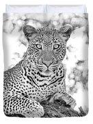 Tarangire Leopard Duvet Cover