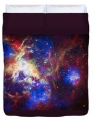 Tarantula Nebula 6  Duvet Cover by Jennifer Rondinelli Reilly - Fine Art Photography