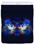 Tarantula Nebula Reflection Duvet Cover by Jennifer Rondinelli Reilly - Fine Art Photography