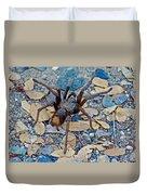 Tarantula Spider In Park Sierra Near Coarsegold-california Duvet Cover