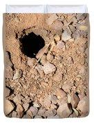 Tarantula Takes Scorpion 5 Of 5 Duvet Cover