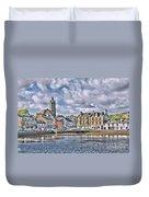 Tarbert -  Loch Fyne Duvet Cover