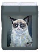 Tard - Grumpy Cat Duvet Cover