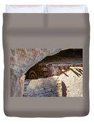 Target Bullseye Anasazi Ruin Duvet Cover