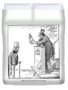 Tariff Bill, 1921 Duvet Cover