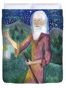 Tarot 9 The Hermit Duvet Cover