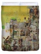 Tarot Card Set Duvet Cover